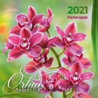 "Calendar gift Lounge ""Orchids"" 2021"